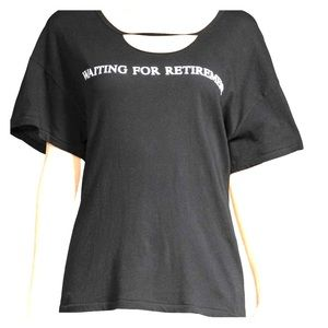 """Wildfox """"Waiting For Retirement"""" tee"""
